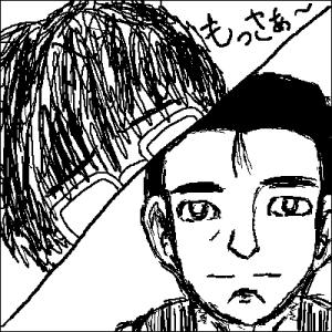 髪長と阿部さん